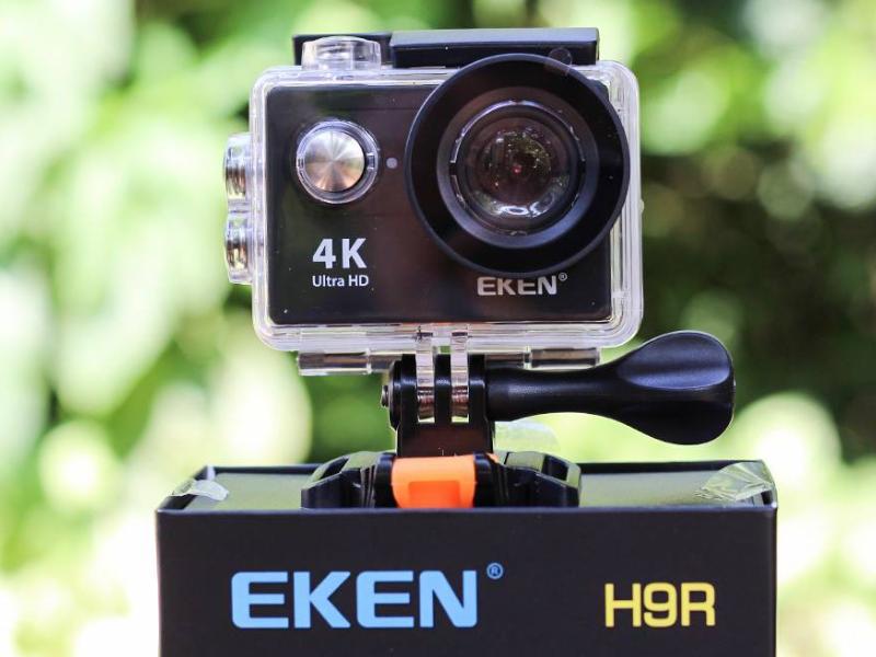 Camera hành trình Eken cho độ phân giải 4k