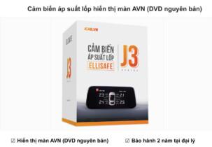Cảm biến áp suất lốp hiển thị màn hình AVN DVD nguyên bản