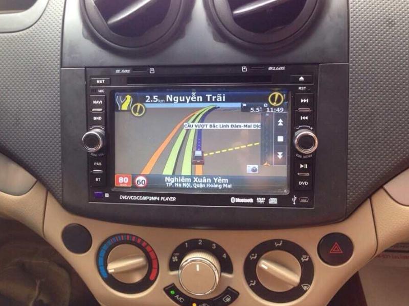 màn hình ô tô chervolet aveo