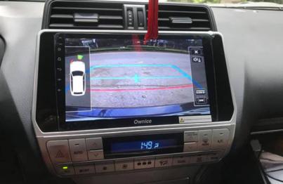 màn hình ô tô toyota