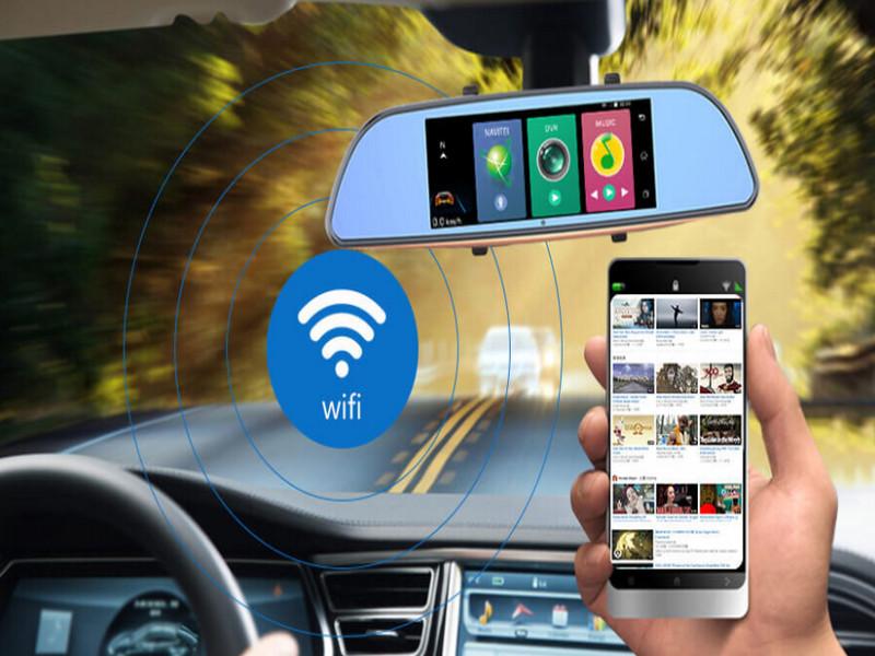 Camera giúp giám sát phương tiện từ xa bằng wifi