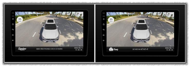 Tính năng cá nhân hóa camera 360