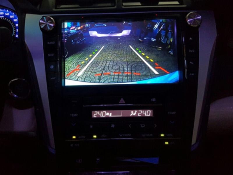 Camera lùi Mazda 3 với khả năng lùi ban đêm rõ nét