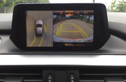 Camera lùi đảm bảo an toàn trong quá trình lùi xe