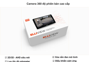 Camera 360 độ ô tô Elliview V5-P