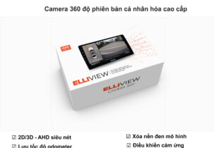 Camera 360 độ ô tô Elliview V5-P Signatures