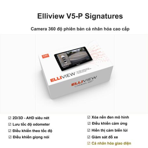 Camera 360 độ ô tô Elliview V5-P Signatures