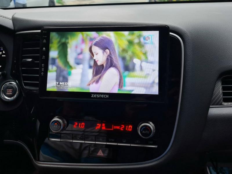 Màn hình DVD tích hợp đầy đủ kênh giải trí nghe nhạc xem phim cho người dùng