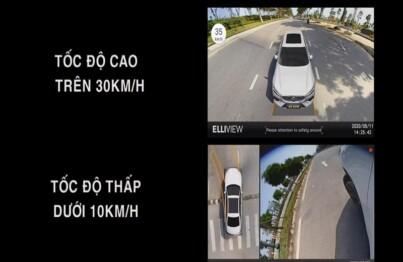 Khả năng hiển thị các góc nhìn tùy theo tốc độ