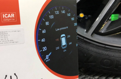 cảm biến áp suất lốp tucson