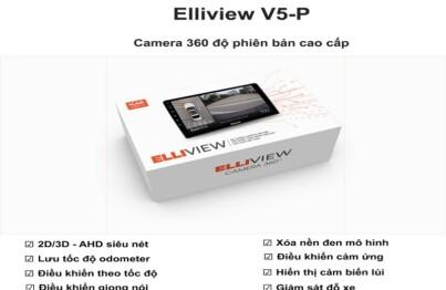 Sản phẩm mới ra mắt của hãng Icar Việt Nam - Camera 360 ô tô Elliview V5