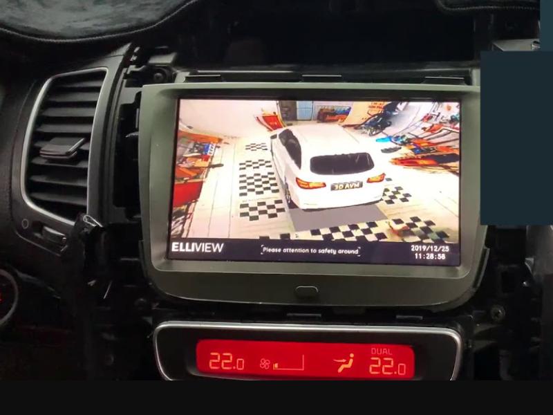 Camera 360 Elliview V4 hiển thị hình ảnh mô phỏng chân thực