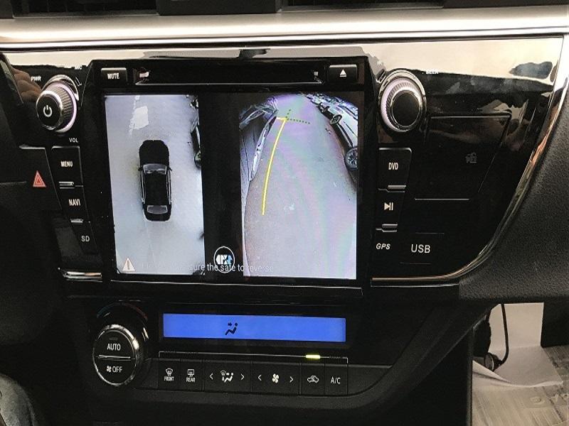 Lắp camera toàn cảnh 360 trên ô tô Corolla Altis