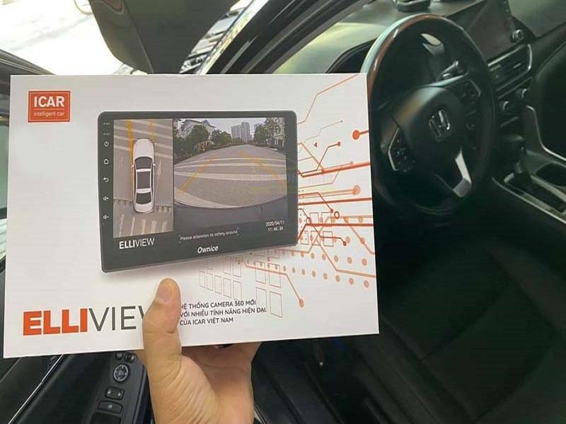 Siêu phẩm năm 2021 - Camera 360 ô tô Elliview V5