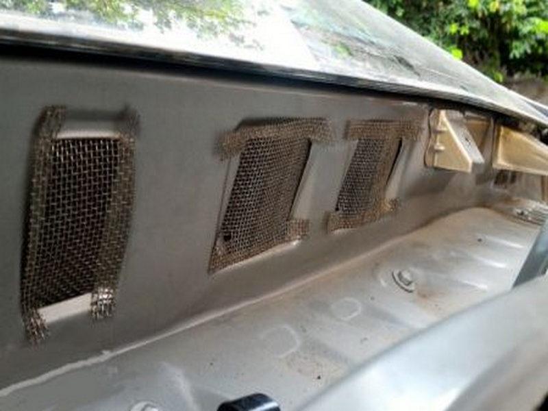 lưới chống chuột ô tô