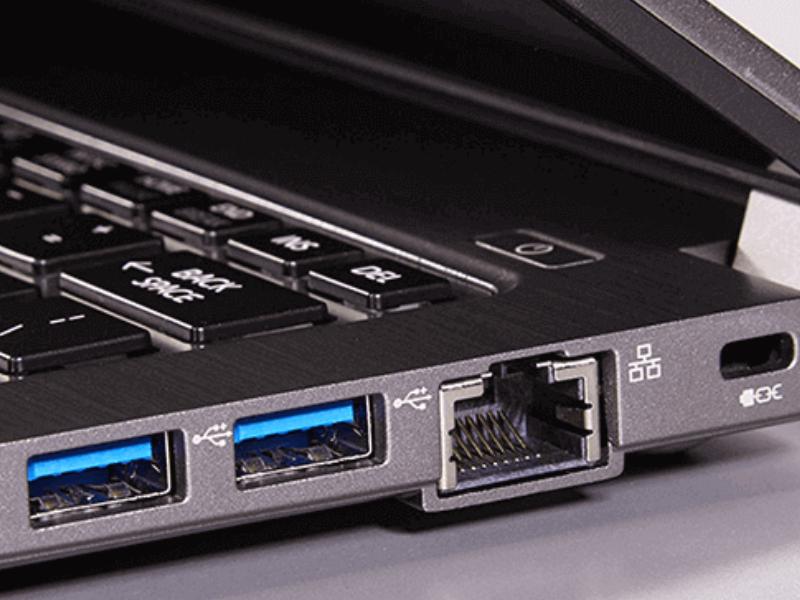 cổng cắm USB trên máy tính