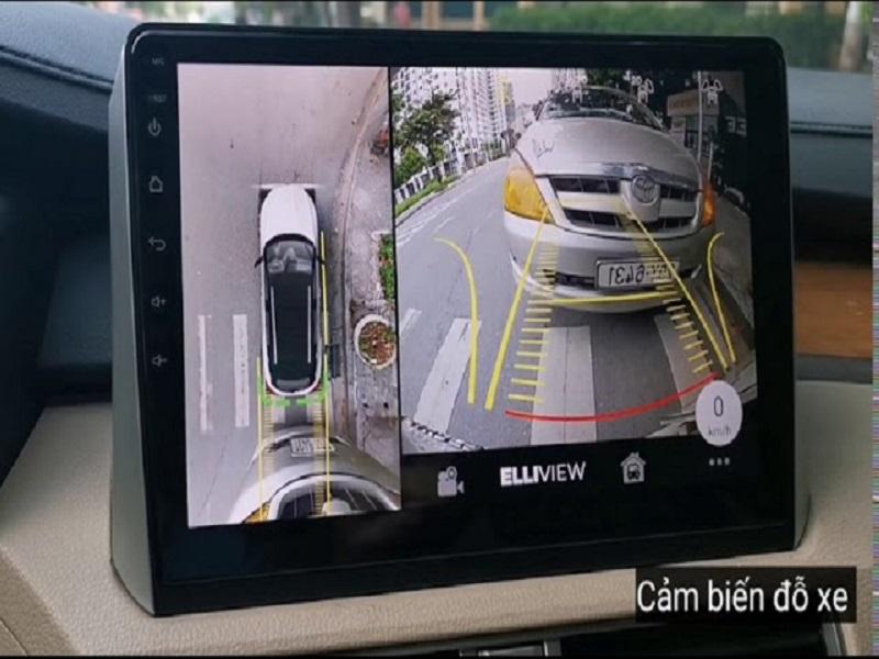 Tính năng cảm biến đỗ xe của camera 360 Elliview S3