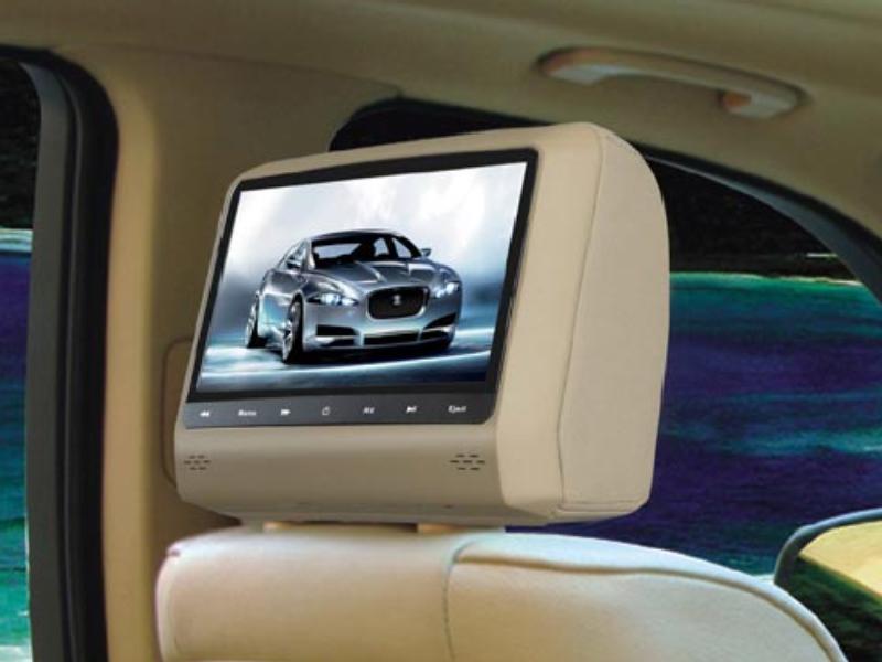 Màn hình ghế sau mang lại nội thất sang trọng cho ô tô