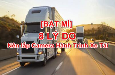 Camera hành trình xe tải giúp lái xe an toàn