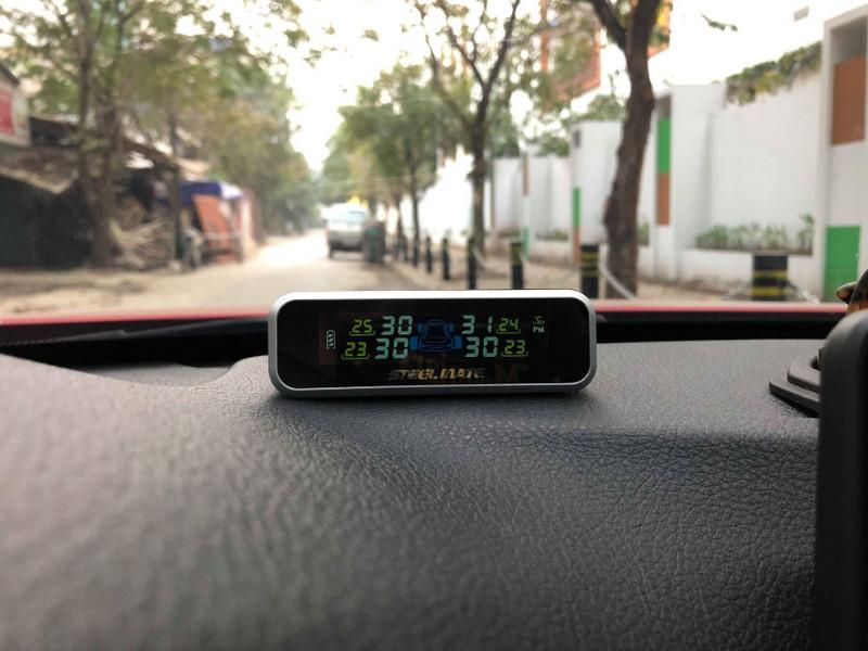 Cảm biến áp suất lốp sẽ giúp lái xe an toàn hơn