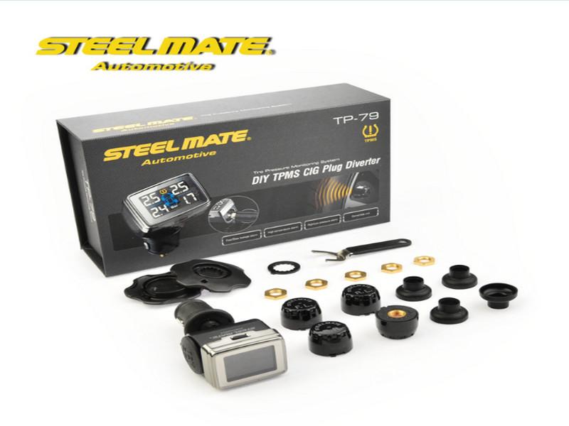 Cấu tạo bộ cảm biến áp suất lốp Steelmate đầy đủ