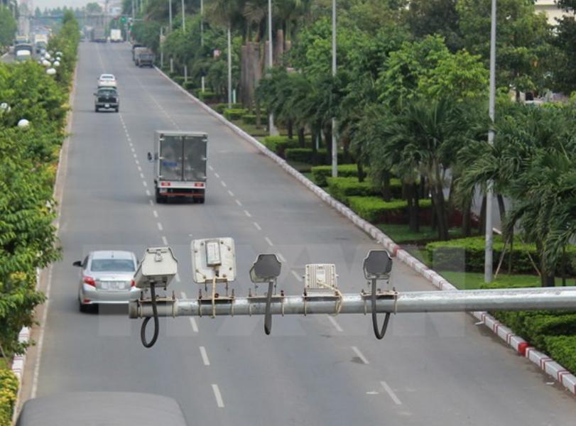Camera bắn tốc độ tại Nghệ An chính thức đi vào hoạt động từ ngày 10.6.2020