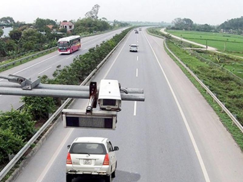 Cao tốc Nội Bài - Lào Cai chính thức dùng camera bắn tốc độ 24/24h trên toàn tuyến