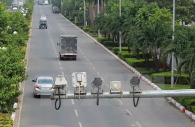 Camera giám sát ghi lại toàn bộ vi phạm của phương tiện tham gia giao thông trên quốc lộ 51