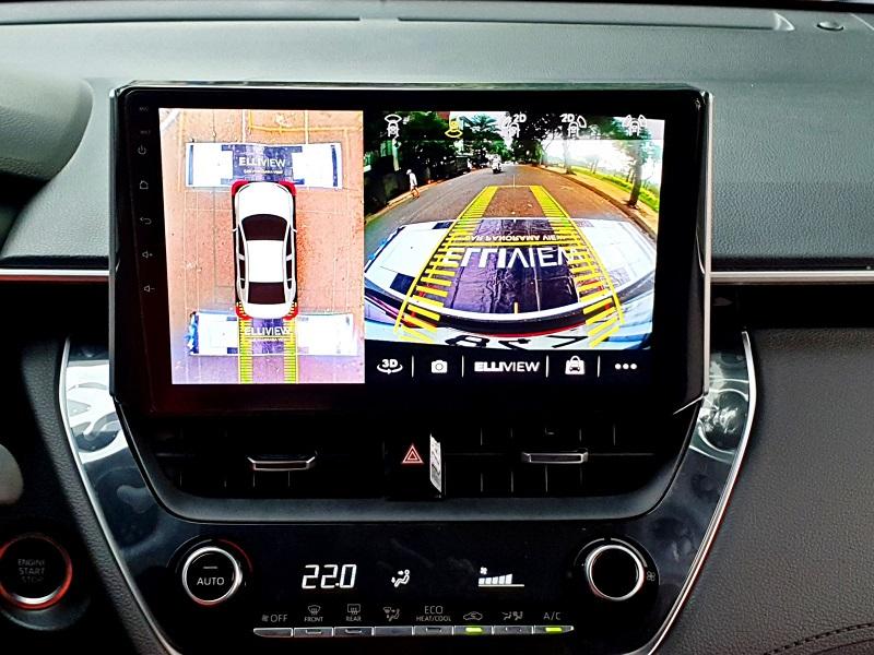 Camera 360 ô tô tốt nhất hiện nay - Elliview S3