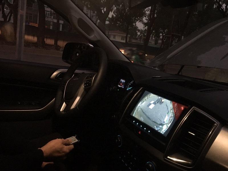 Camera 360 ô tô cung cấp hình ảnh sắc nét, hỗ trợ lái xe ban đêm tối đa