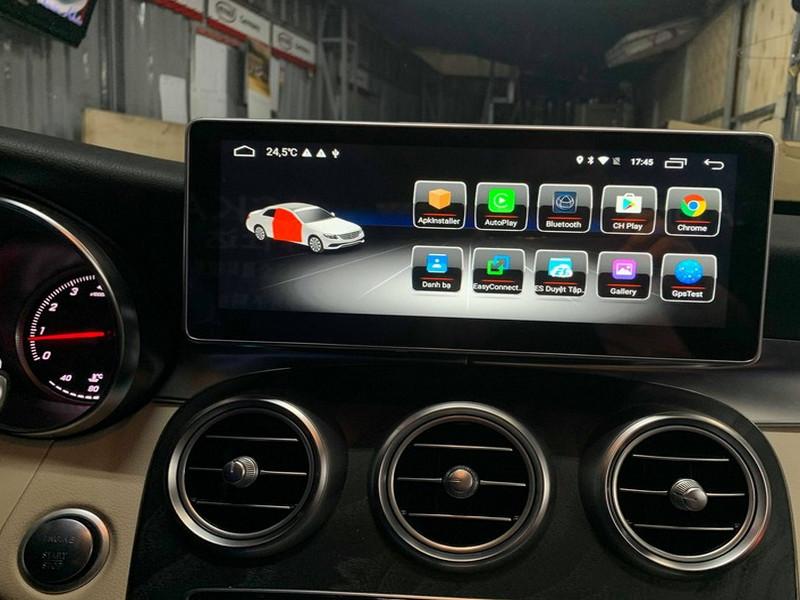 Màn hình được thiết kế dành riêng cho xe Mercedes