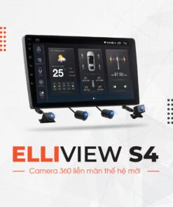 Màn hình android tích hợp camera 360 độ - Elliview S4