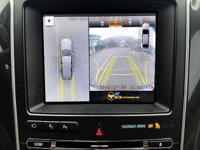 Hình ảnh rõ nét của camera 360 ô tô Owin