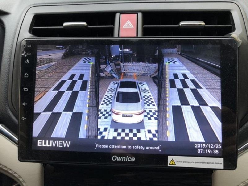 Sự tương thích của dòng xe Honda với hệ thống camera 360 ô tô Elliview