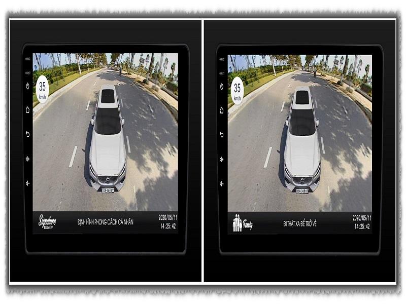 Tính năng độc nhất chỉ có ở camera 360 ô tô Elliview
