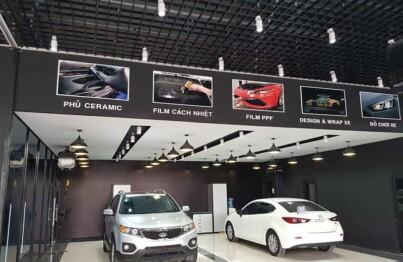 Dịch vụ chăm sóc xe tại nội thất ô tô An Dương Vương mang đến một chiếc xe mới mẽ hơn