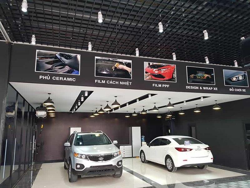 Dịch vụ chăm sóc xe tại nội thất An Dương Vương mang đến một chiếc xe mới mẽ hơn
