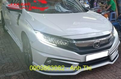 Body kit xe Honda Civic chính hãng Thái tại nội thất ô tô Anh Thi