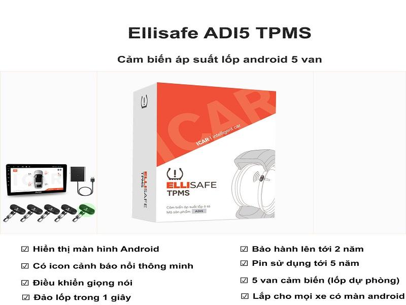 Cảm biến áp suất ô tô hiện đại nhất hiện nay - Ellisafe ADI5