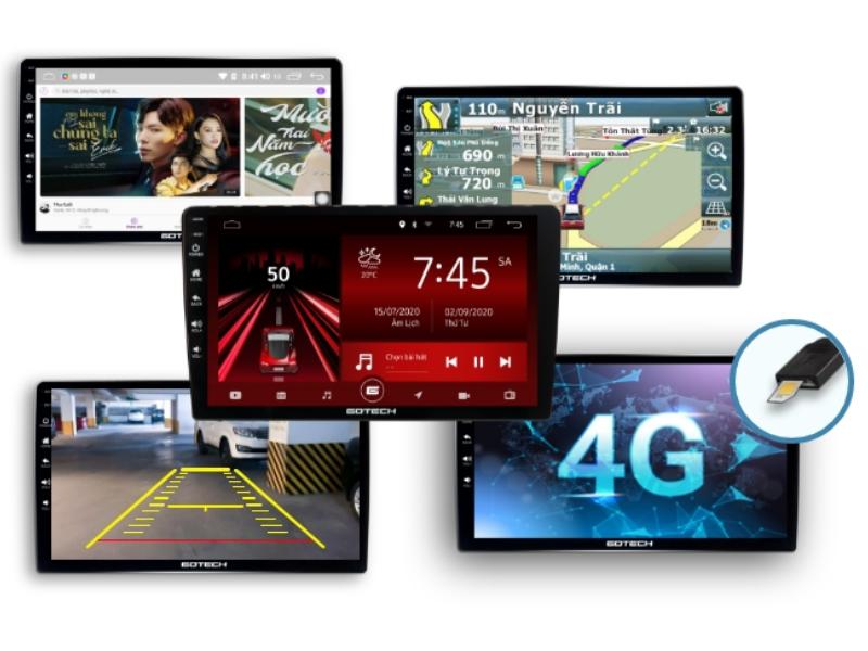 Màn hình Gotech- Thiết bị thông minh mang lại cho người dùng nhiều tính năng hữu ích