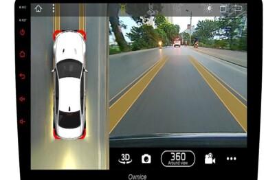 Sự tương tích giữa màn hình Ownice và camera 360 ô tô Elliview S3 cung cấp hình ảnh siêu nét