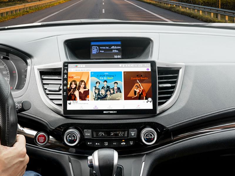Màn hình Gotech-Đưa cả thế giới âm nhạc vào trong xe của bạn