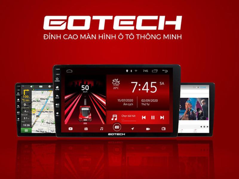 Camera hành trình Gotech - Hỗ trợ nhiều tính năng thông minh