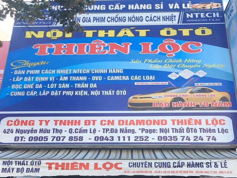 Nội thất ô tô Thiên Lộc cung cấp đa dạng phụ tùng dành cho ô tô