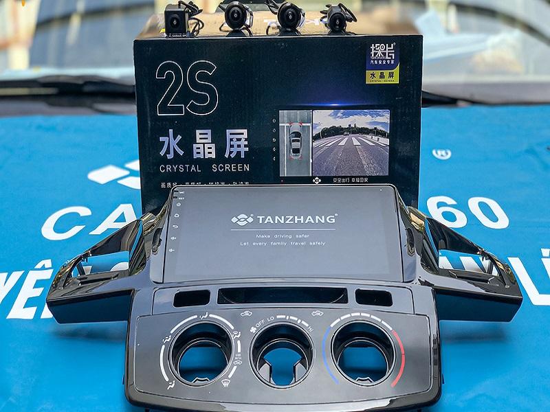 Bộ sản phẩm camera 360 ô tô DCT liền màn hình