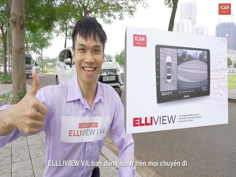 Camera 360 ô tô Elliview V4 sau nhiều lần chạy thực nghiệm