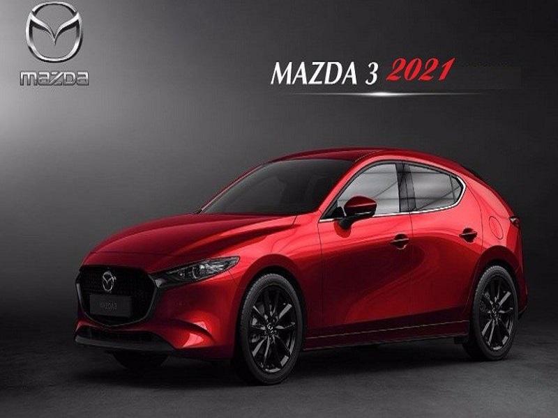Mazda 3 2021 đẹp mê ly, trang bị động cơ Turbo mạnh mẽ