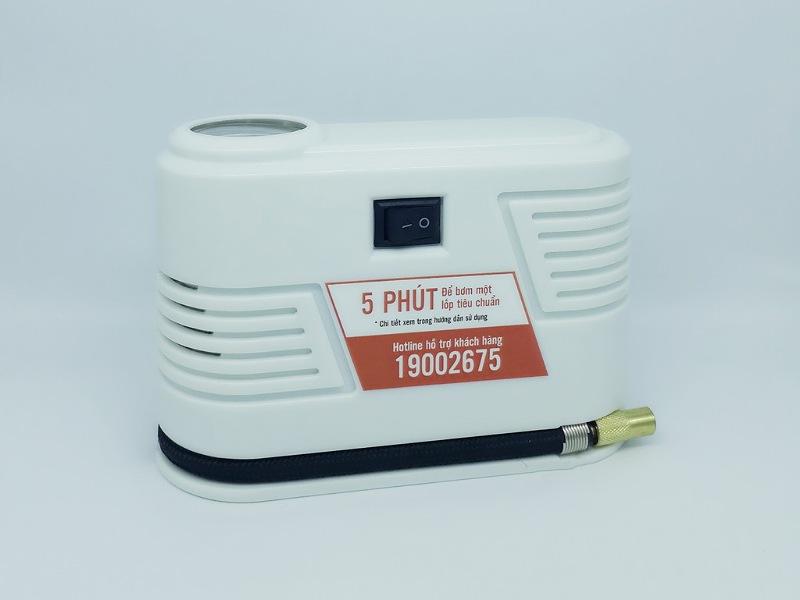 Bơm điện mini iPress P28 có thiết kế nhỏ gọn, bền chắc