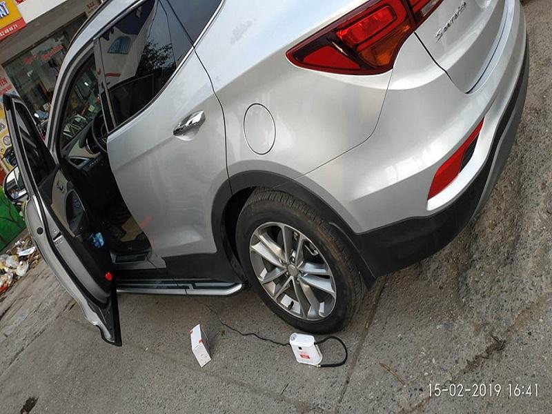 Dự phòng được tình huống xì lốp với bơm điện mini iPress P28