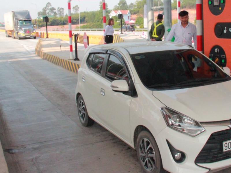 Cao tốc Bắc Giang- Lạng Sơn với hệ thống camera bắn tốc độ tại trạm thu phí